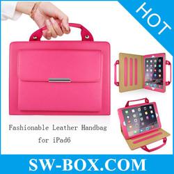 Fancy laptop bag for ladies leather handbag for iPad Air 2