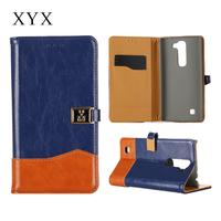 2015 Unique fashionable design mobile phone accessories phone case , magnetic closure flip leather case for lg g4 mobile phone