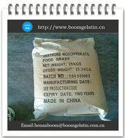 bulk organic dextrose monohydrate powder