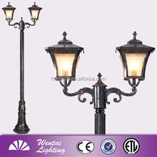 Incandescent Bulb 200W Decorative Garden Light Pole