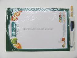 Custom high quality fridge magnet whiteboard wholesale