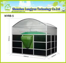Small biogas plant/cow manure fertilizer pellet machine