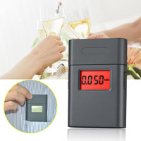 Personal Mini 360Degree Rotary Mouthpiece Distiller Alcohol Breathalyzer Digital Alcohol Meter Tube for Alcohol Roadway Safety