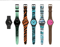 fashion PVC band plastic watch for promotion plastic ladies watch custom printed strap womens full printed plastic watch