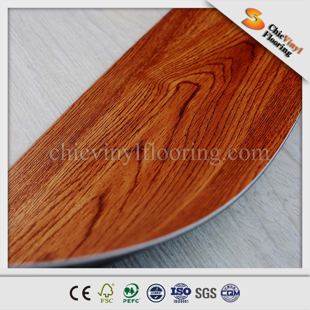 Cheap vinyl flooring plastic pvc flooring wood look for Plastic hardwood flooring