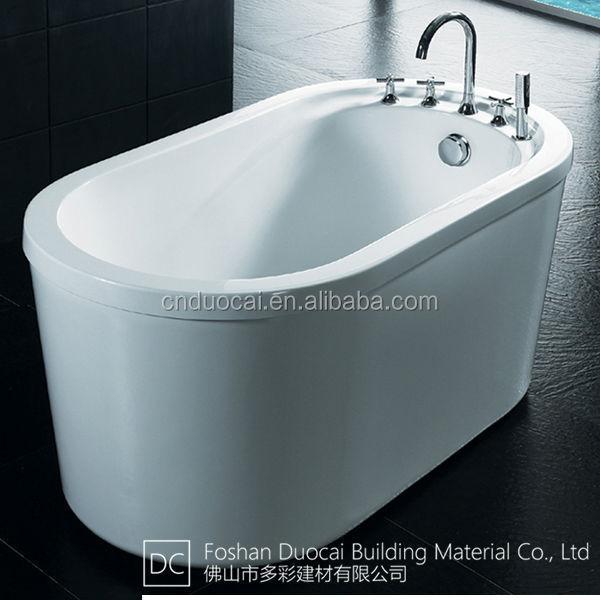 Small Portable Freestanding Custom Size Plastic Bathtub