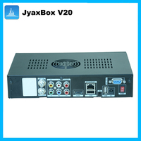 FTA digital satellite receiver jyazbox v20 with jb200 module and wifi hd cable diseqc switch