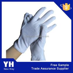 2015 Manufacturer White Cotton Glove/Parade glove/Waiter Glove