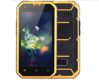 NEW 4.5inch MTK6582 quad core ROM 8GB GPS wifi dual sim android 5.0 waterproof ip68 rugged smart phone