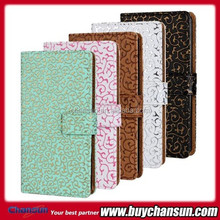 Mobile phone protector leather case for LG G3 VS985