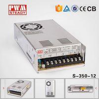 Aluminum 12v 30a dc led light power supply 360w s-360-12 led driver