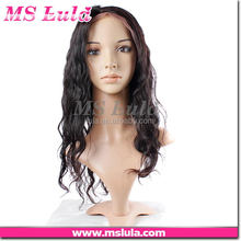 remy hair reasonable OEM service natural hair wig for men