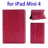 In stock!!! Crocodile Texture wallet case for iPad mini 4
