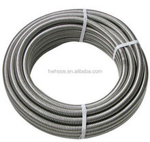 stainless steel 304 316l type annular metal flexible hose pipe for water pipe water heating gas hose pipe