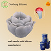 Easy to use candle mold making silicone rubber