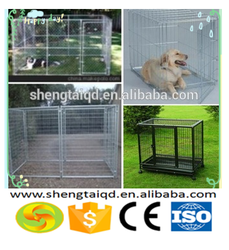 Wholesale cheap portable chain link dog kennel /portable fences for dogs (factory price)