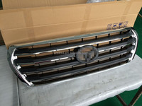 High Quality Front Grille for Land Cruiser 200 (Base painting/Black mixed with chrome)