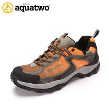 aqua 2013 dos nuevos venta al por mayor de moda y popular a prueba de agua de calzado de senderismo