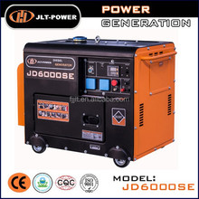 diesel generator 5kw genset!!! JLT-Power JD6000SE 5kW small sient diesel power generator single cylinder generator