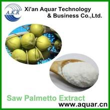 high quality Serenoa repens extract 25% fatty acid