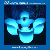 led rgb lighting white plastic beach lounge chairs