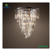 American antique design k9 crystal chandelier for wedding room decoration