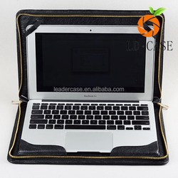 Guangzhou wholesale business men laptop leather case briefcase for macbook pro retina 13 15 inch