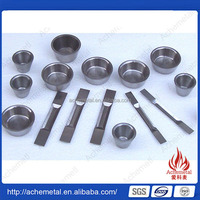 Hot china products wholesale tungsten boats and crucible for sale