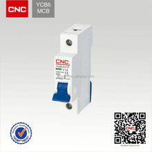 Hot sale YCB6 Earth leakage c45 circuit breaker prices