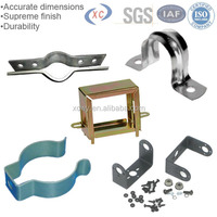 Sheet metal fabrication stainless steel pipe repair clamp u shaped