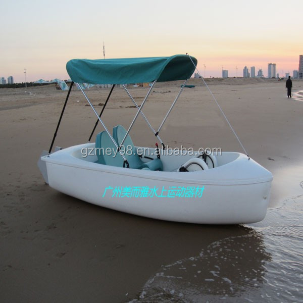 Guangzhou plastic fishing boat used pedal boats for sale m for Fishing pedal boat