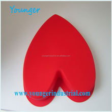 Younger Company Eco-friendly Silicone house shape muffin cake mould for DIY baking muffin