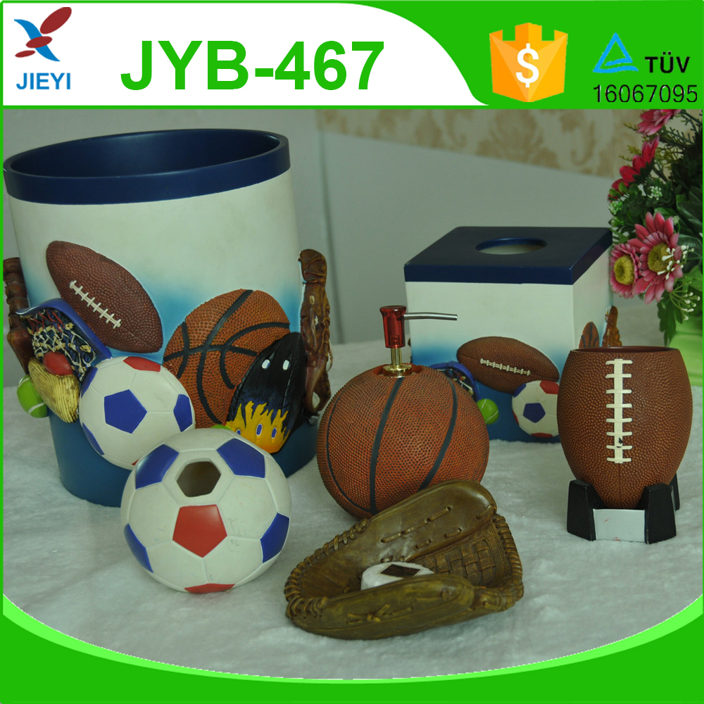 Cute Sports Design Bathroom Set For Kids Bathroom Accessory Buy Cute Bathroom Accessories Set