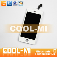 wholesale cellphone replacement lcd display screens for apple iphone 5 digitizer