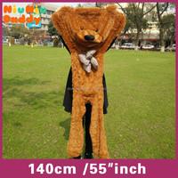 Niuniudaddy Semi-finished Plush bear 140cm plush toy skin