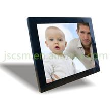 15'' inch multi digital photo frame high resolution 1280*1024,support 1080P,video+music+photo+clock+calendar+alarm..