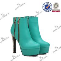 2016 Unique boots new design popular white platform boots