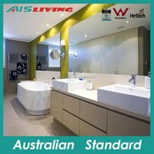 AISLIVING wall mounted veneer small bathroom vanity with modern style