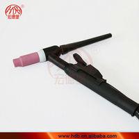 Adjustable tig welding torch