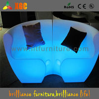 chair for party hall decoration LED Bar chairs for nightclub