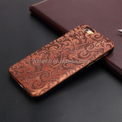 2016 Handmade wood for iphone 5 case, wood for iphone 6 case , wood case for iphone 6 plus with logo engraved
