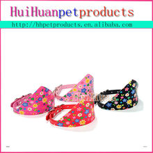 wholesale cheap pet product colorful flower dog collar