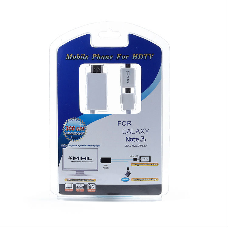 High quality! mini mhl to hdmi converter MHL hdtv adapter cable for ipad