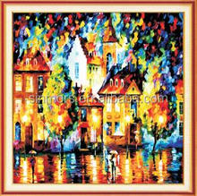 Diy 5d abstract oil painting house wall art embroidery crystal acrylic diamond painting cross stitch home decor