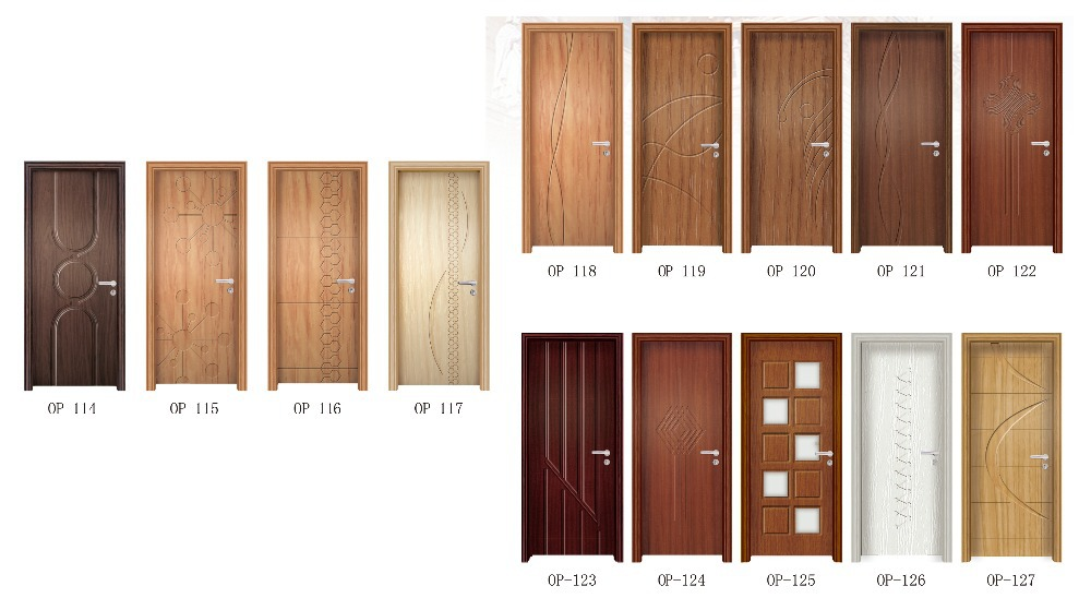 Pvc mdf door for Living room door design
