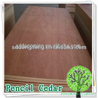 Pencil Cedar Commercial Plywood All Grades