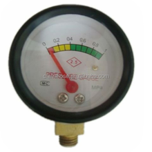 Used for LPG regulator Gas Regulator Pressure Gauge