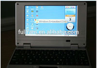 factory stock 7 inch mini notebook with Android 2.2 os stock laptop