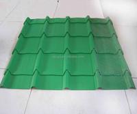 Galvanized color coated steel sheet/glazed steel roofing tile