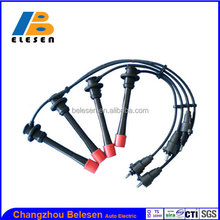 High voltage silicone ignition wire/spark plug cable set 90919-22387